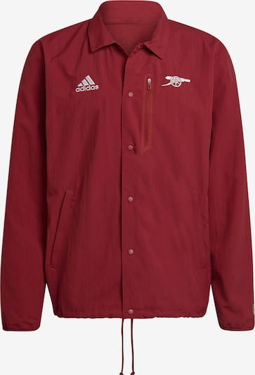 ADIDAS PERFORMANCE Athletic Jacket in Dark red, Item view