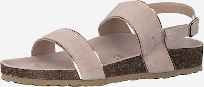 MARCO TOZZI Remienkové sandále - púdrová / strieborná, Produkt