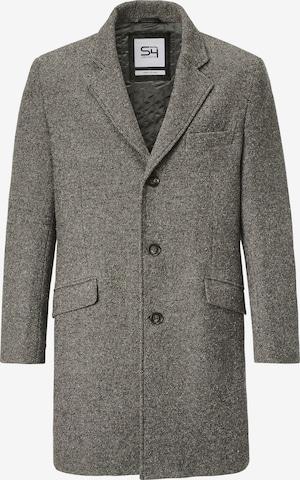 S4 Jackets Between-Seasons Coat in Grey