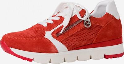Sneaker bassa MARCO TOZZI by GUIDO MARIA KRETSCHMER di colore rosso / bianco, Visualizzazione prodotti
