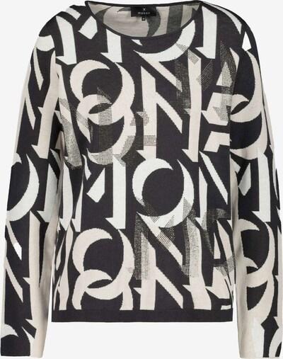 monari Pullover in schwarz / weiß, Produktansicht