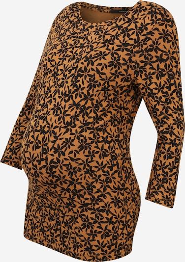 Supermom Shirt in de kleur Bruin / Zwart, Productweergave