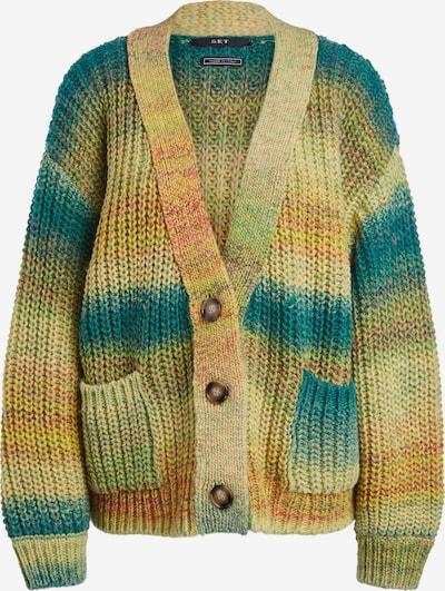 SET Gebreid vest in de kleur Gemengde kleuren, Productweergave