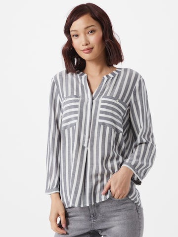 TOM TAILOR Bluse in Weiß
