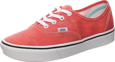 VANS Authentic Sneaker in orange, Produktansicht