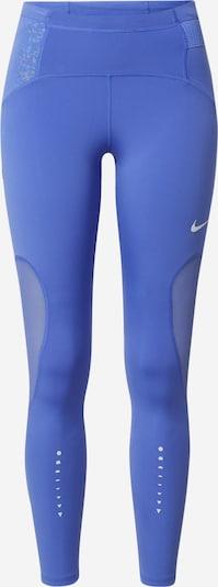 NIKE Sportovní kalhoty - safírová / bílá, Produkt