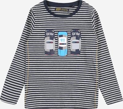 LEMON BERET Tričko - tmavě modrá / šedý melír / bílá, Produkt
