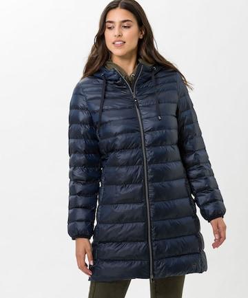 BRAX Winter Coat in Blue