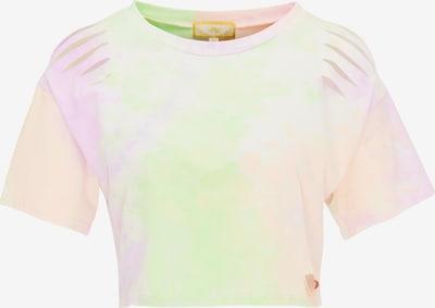 MYMO Shirt in orange / dunkelpink, Produktansicht