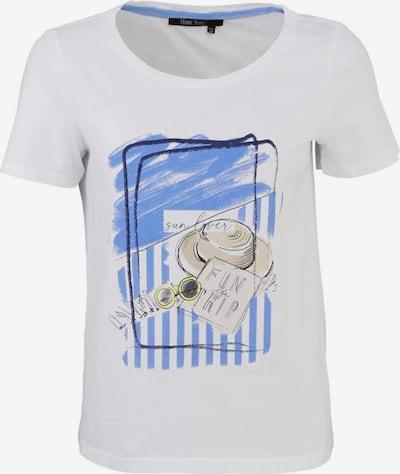 MARC AUREL T-Shirt in beige / royalblau / gelb / schwarz, Produktansicht