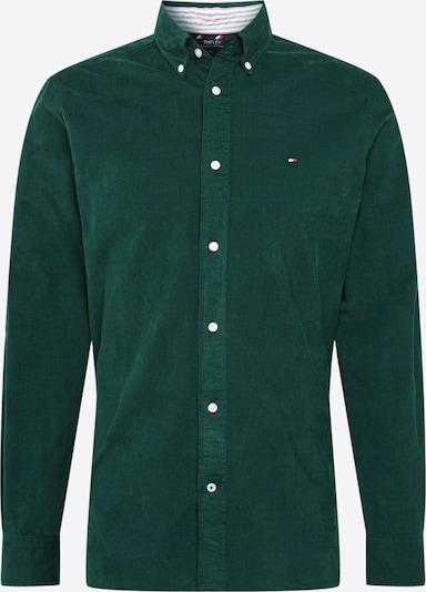 TOMMY HILFIGER Hemd 'Flex' in dunkelblau / dunkelgrün / rot / weiß, Produktansicht