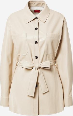 HUGO Overgangsjakke 'Amitasa-1' i beige