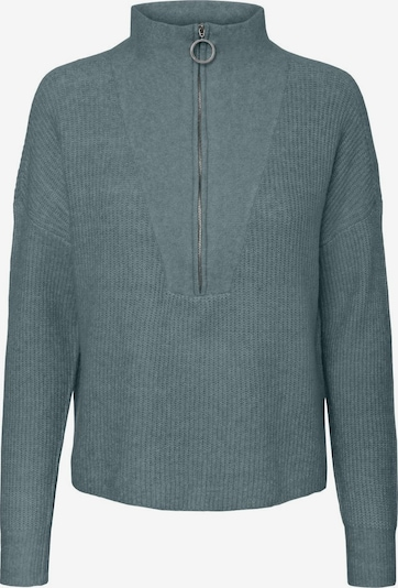 Noisy may Sweter 'NMNEWALICE L/S HIGH NECK KNIT' w kolorze niebieski / szarym, Podgląd produktu
