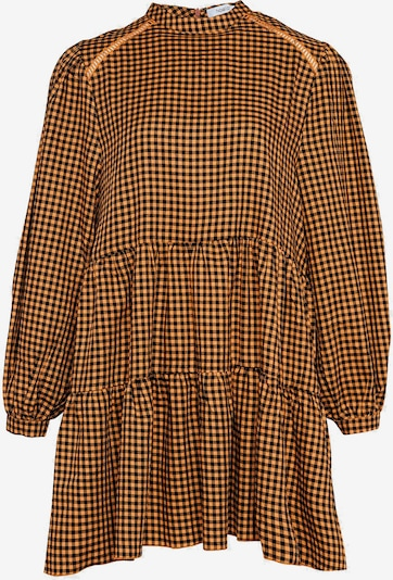 Noella Kleid in dunkelblau / orange, Produktansicht