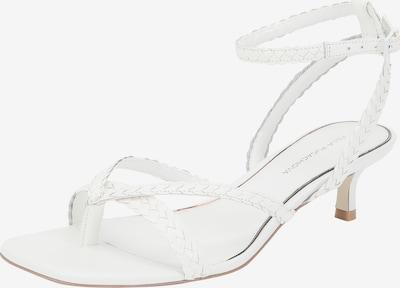 Ekonika Sandalen met riem in de kleur Wit, Productweergave