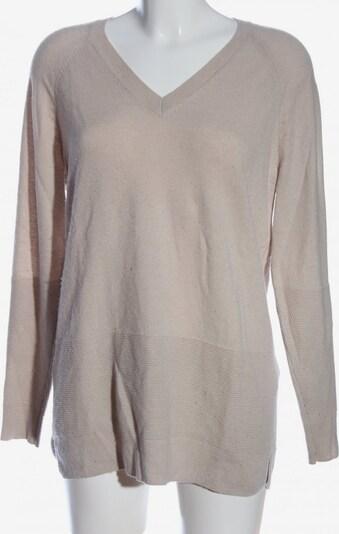 L.K.Bennett V-Ausschnitt-Pullover in M in wollweiß, Produktansicht