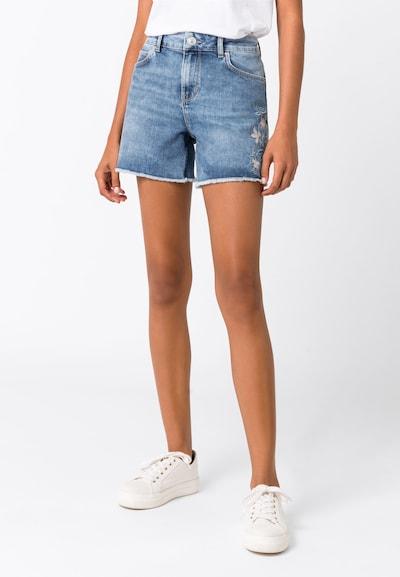 HALLHUBER Jeansshorts in blau, Modelansicht