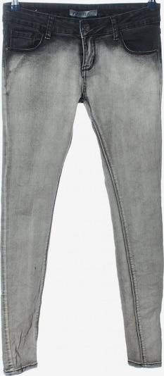 Lexxury Röhrenhose in M in hellgrau / schwarz, Produktansicht