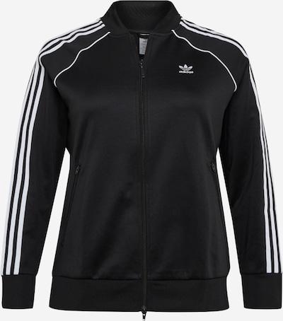 ADIDAS ORIGINALS Jacke 'Primeblue' in schwarz / weiß, Produktansicht