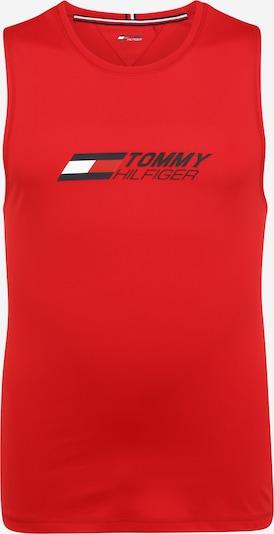 Tommy Sport Koszulka funkcyjna w kolorze ciemny niebieski / czerwony / białym, Podgląd produktu