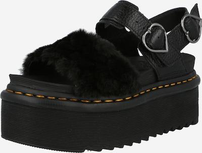 Sandale cu baretă Dr. Martens pe negru, Vizualizare produs