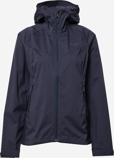 Bergans Veste outdoor en bleu nuit, Vue avec produit