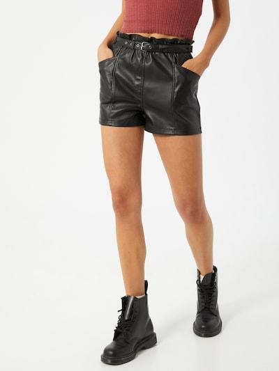 Pimkie Hose 'Arocuir' in schwarz, Modelansicht