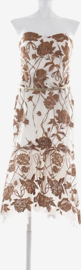 Marchesa Kleid in M in braun / weiß, Produktansicht