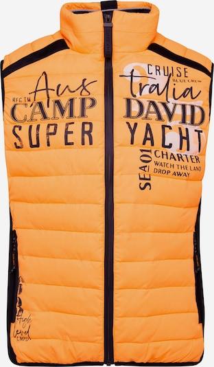CAMP DAVID Weste in mischfarben / orange, Produktansicht