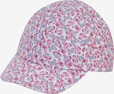 STERNTALER Hat in Light blue / Dark pink / White, Item view