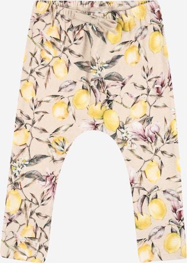 Pantaloni 'DARINA' NAME IT pe bej / maro / galben / kaki / roşu închis, Vizualizare produs