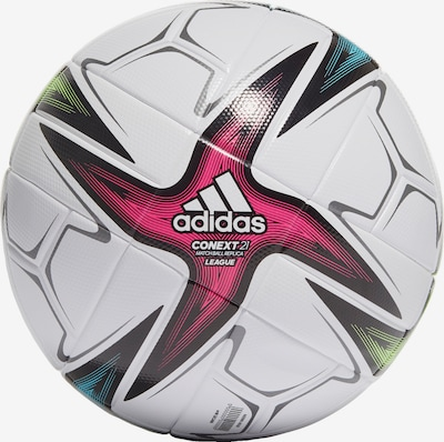 kék / zöld / rózsaszín / fekete / fehér ADIDAS PERFORMANCE Labda 'Conext 21 League', Termék nézet