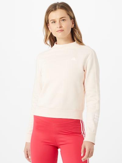ADIDAS PERFORMANCE Sportsweatshirt in pastellpink: Frontalansicht