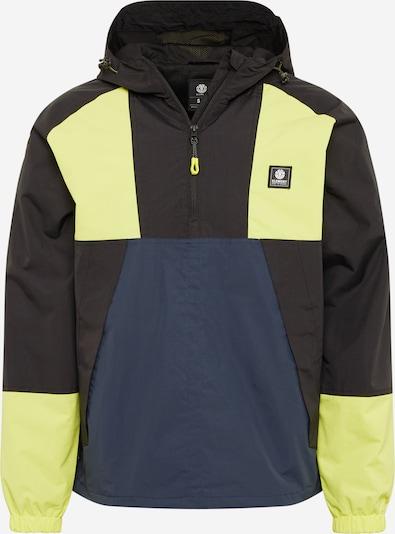 ELEMENT Prehodna jakna | mornarska / rumena / črna barva, Prikaz izdelka