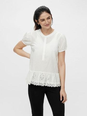 MAMALICIOUS Bluse 'Grazie' in Weiß