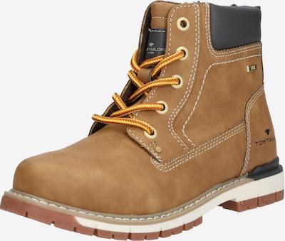 Auliniai batai su kulniuku iš TOM TAILOR , spalva - kupranugario / benzino spalva, Prekių apžvalga
