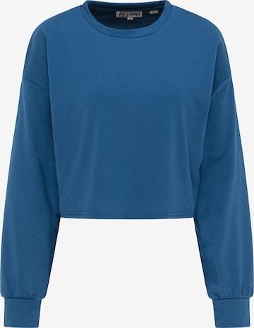myMo ATHLSR Athletic Sweatshirt in Blue