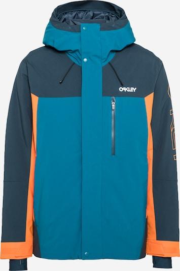 OAKLEY Яке Outdoor в синьо / тъмносиньо / оранжево, Преглед на продукта