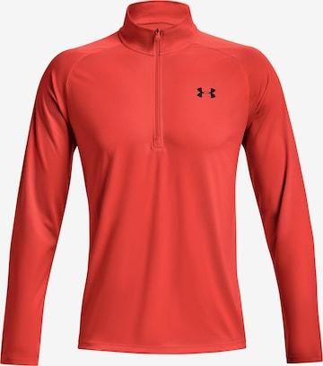 UNDER ARMOUR Sportshirt 'Tech' in Orange