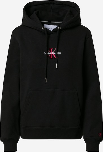 Megztinis be užsegimo iš Calvin Klein Jeans, spalva – rožinė / juoda / balta, Prekių apžvalga