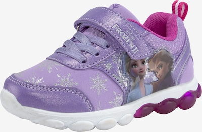 DISNEY Sneaker in lila / mischfarben, Produktansicht