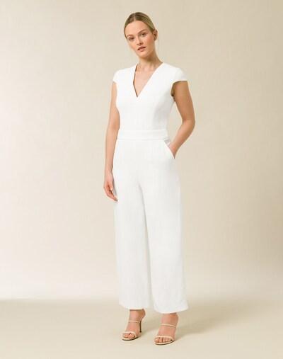 IVY & OAK Jumpsuit in weiß, Modelansicht