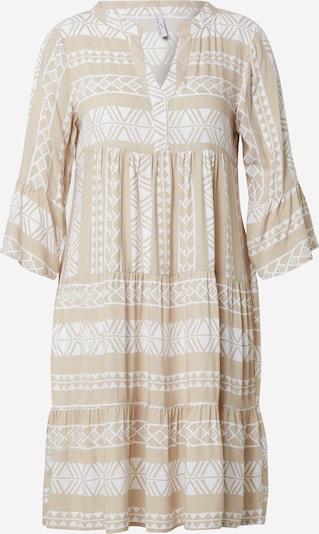 Sublevel Kleid in beige / weiß, Produktansicht