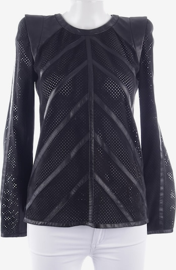 Barbara Bui Ledershirt  in XS in schwarz, Produktansicht