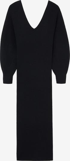 MANGO Pletené šaty 'Nibia' - čierna, Produkt