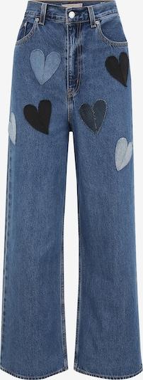 Levi's® Upcycling Jeans 'Kelvyn Colt Design High Loose' in blue denim, Produktansicht