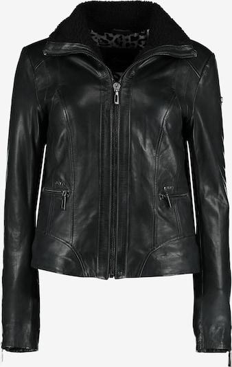 DNR Jackets Lederjacke in schwarz, Produktansicht