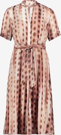 Betty & Co Midikleid mit Print in braun / rosé, Produktansicht