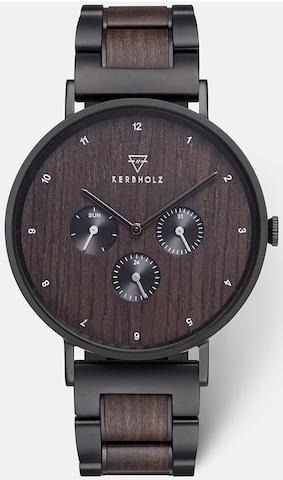Kerbholz Analog Watch in Black