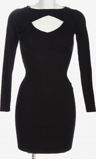 Urban Classics Langarmkleid in XS in schwarz, Produktansicht